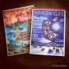 Somerset life Magazine cover illustrations