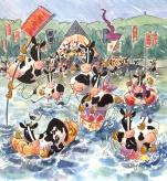 Festival Milk Float