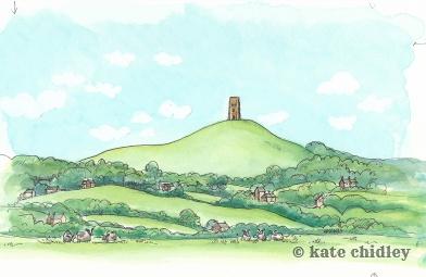 Glastonbury tor. England, I love you