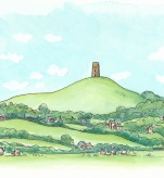 Glastonbury tor. England, I love you