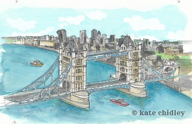 London Bridge. England, I love you