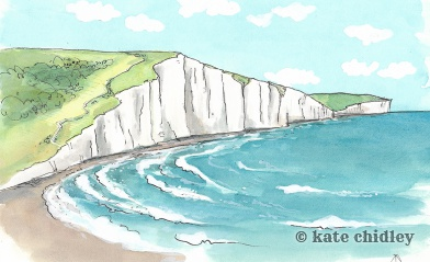 White cliffs of Dover. England, I love you.